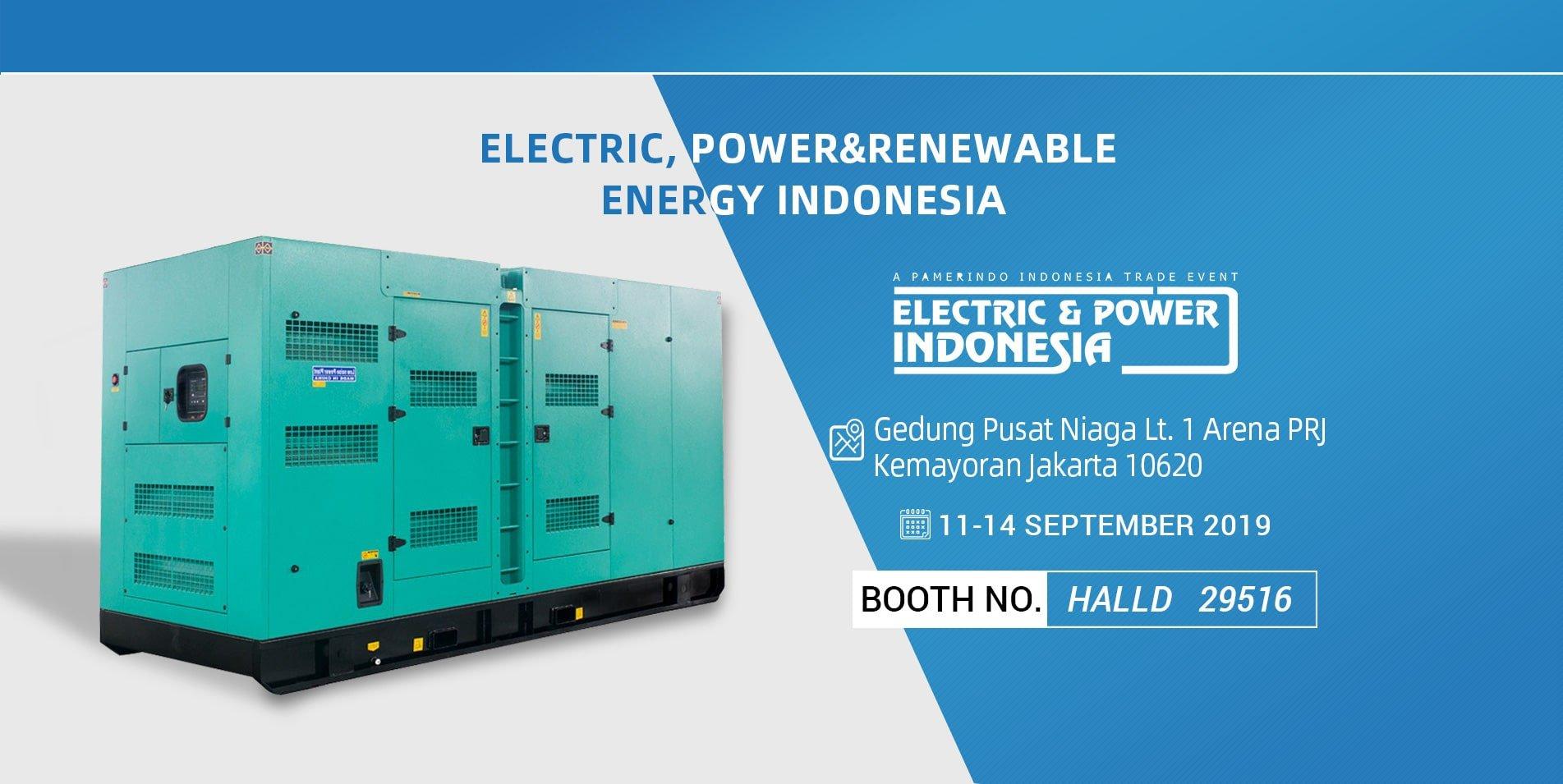 Electric,Power&RenewableEnergyIndonesia 2019