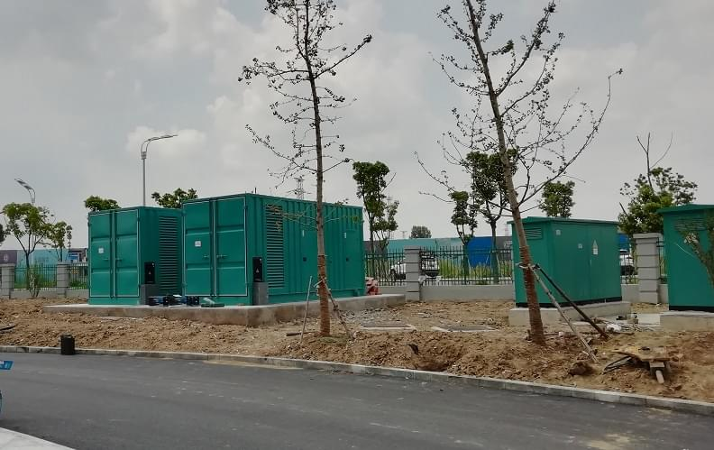 PAVO diesel generator set solves hospital problems