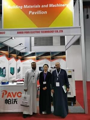 Spot trading at the Jeddah exhibition